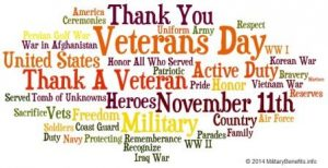 With Respect, Honor and Gratitude